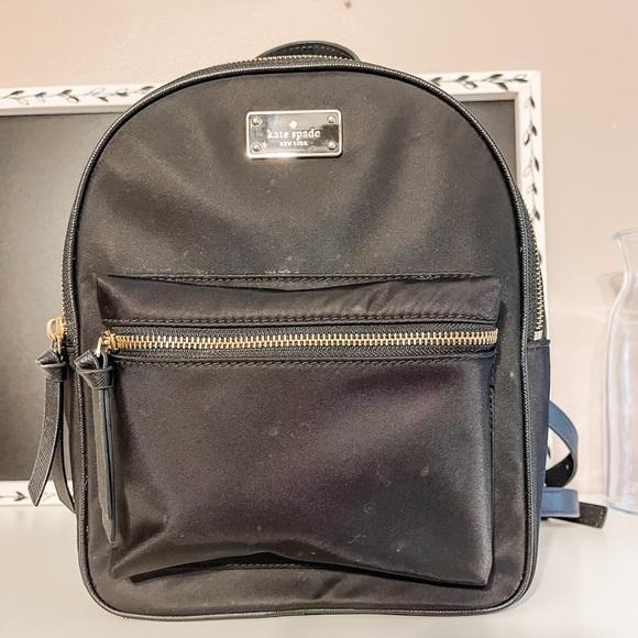 Kate Spade nylon backpack-washable material!